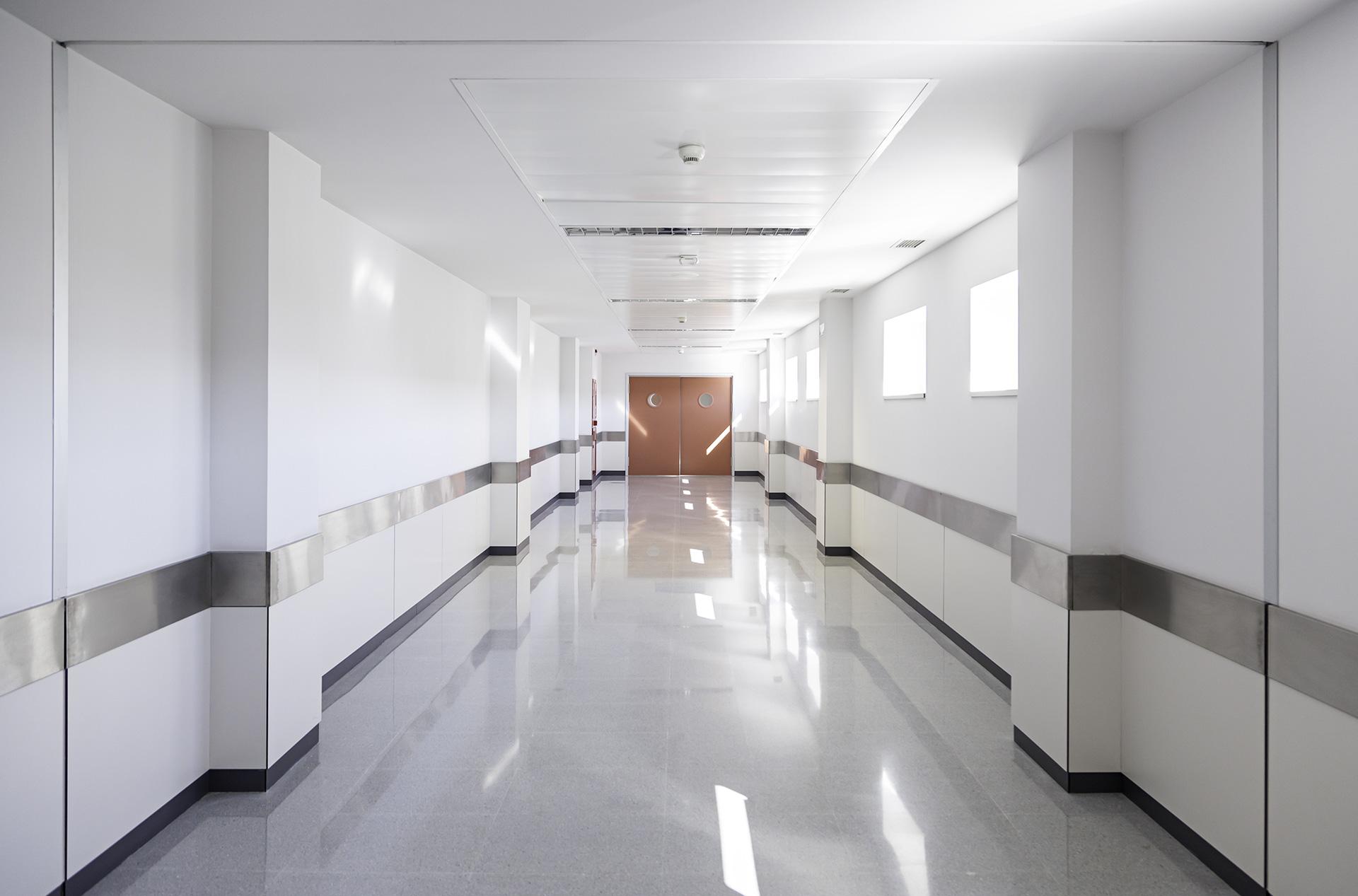 ProtectWall Policarbonato paredes para espacios sanitarios